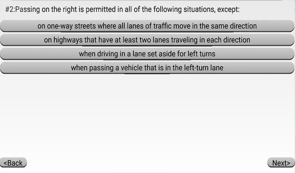 Rhode Island DMV Practice Exam screenshot 2