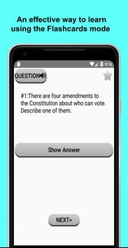 US Citizenship Test 2021 스크린샷 1