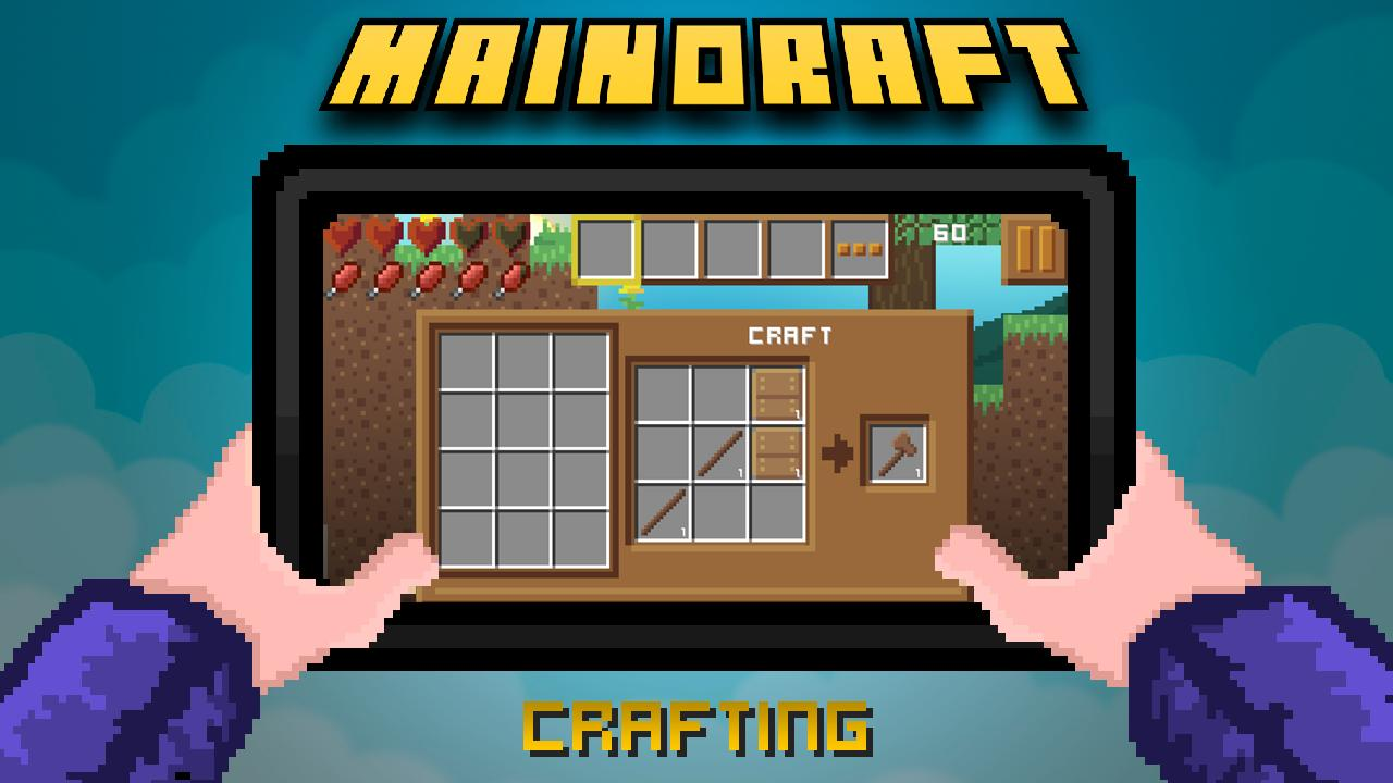 MainOraft | 2D-Survival Craft for Android - APK Download