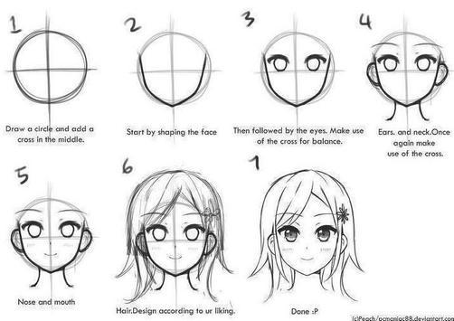 Learn Manga Drawing screenshot 1