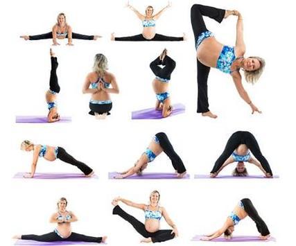 Pregnancy Yoga Exercises screenshot 2