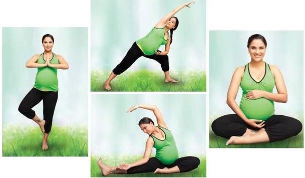 Pregnancy Yoga Exercises screenshot 4