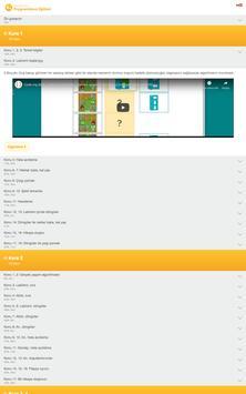 Kodlama Çözüm Videoları (code.org için) screenshot 6