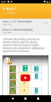 Kodlama Çözüm Videoları (code.org için) screenshot 1