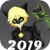 Miraculous Cat Noir Wallpaper HD icon
