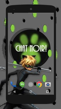 Miraculous Cat Noir Wallpaper HD screenshot 2