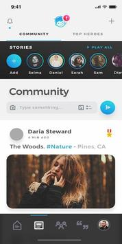 Dupdup: Make Social Connections, Be Someone's Hero screenshot 2