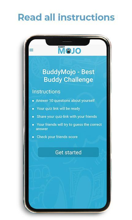 BuddyMojo - Best Buddy Challenge for Android - APK Download