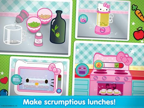 Hello Kitty Lunchbox poster