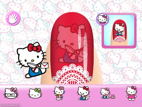 Salon Kuku Hello Kitty screenshot 7