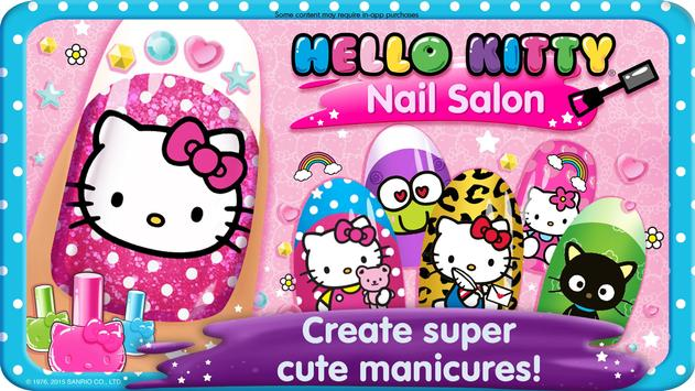 Salon Kuku Hello Kitty poster