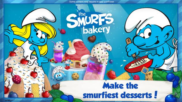 The Smurfs Bakery poster