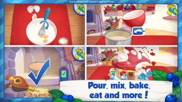 The Smurfs Bakery screenshot 1