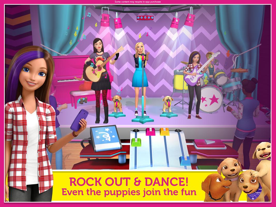 Barbie Theme For Android Free Download