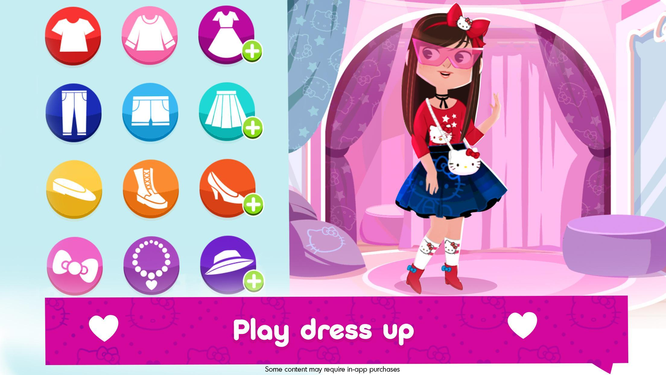Hello Kitty Fashion Star app for Android download 2019