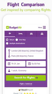 BudgetAir - Flights & Hotels screenshot 4