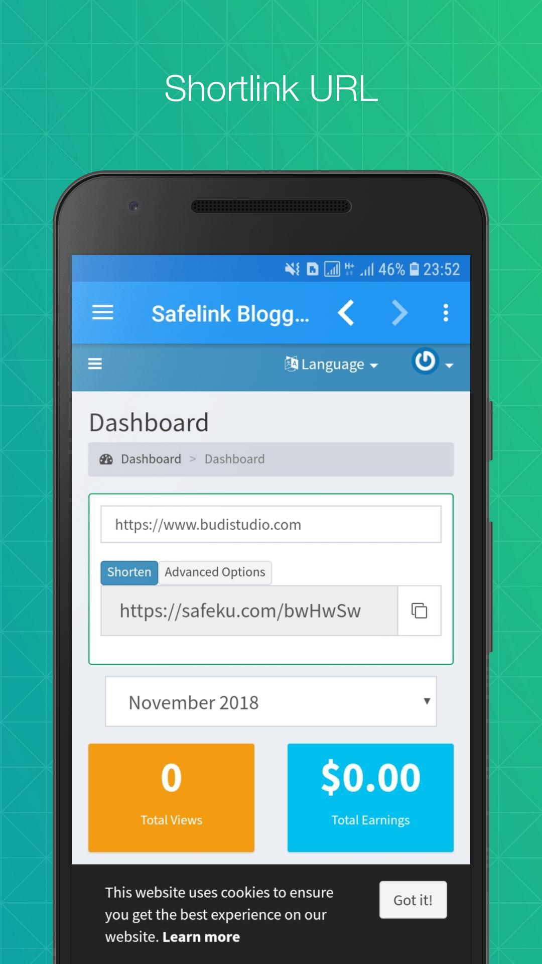Safelink Blogger for Android - APK Download