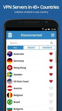 Buffered VPN screenshot 1
