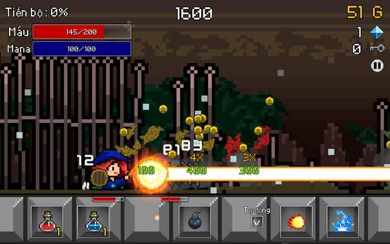 Buff Knight Advanced - Retro RPG Runner ảnh chụp màn hình 5