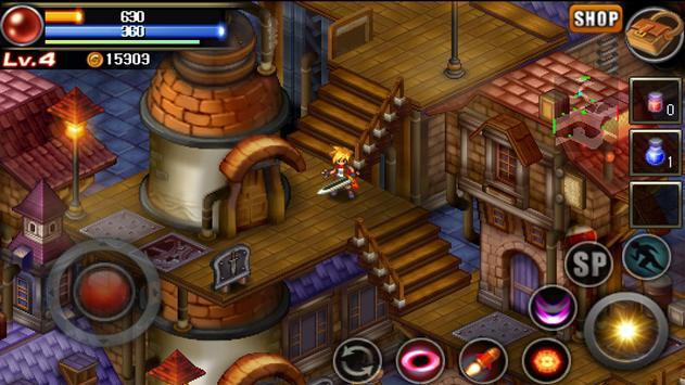 神秘守護者:復古風格的動作RPG 截圖 20