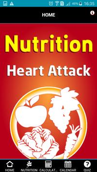 Nutrition Heart Attack poster
