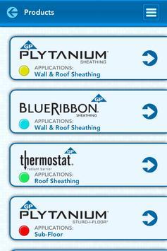 GP Wood Products Panel Guide screenshot 2