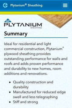 GP Wood Products Panel Guide screenshot 3