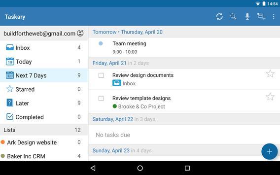 To-Do Lists for Google Tasks 截图 10