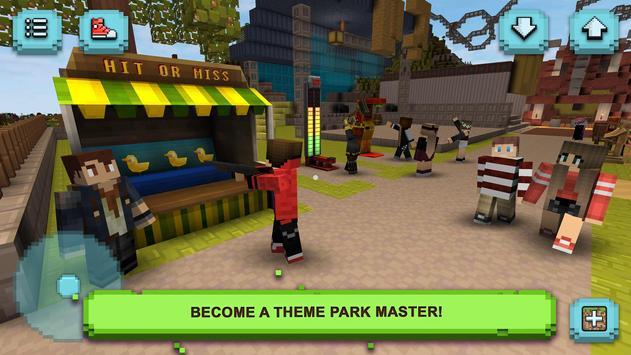 Theme Park Craft plakat