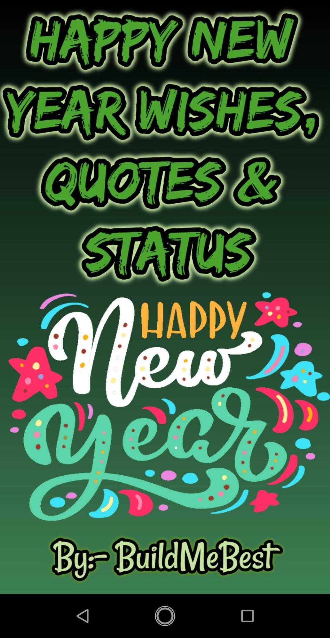 Happy New Year Wishes Quotes 2020 Message Status For
