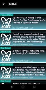 Sorry Quotes in English - Best Apology Messages for Android - APK