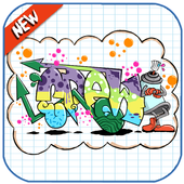 How To Draw Graffiti Step by Step icon