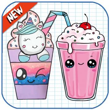 How To Draw Cute Sweet Drinks screenshot 7