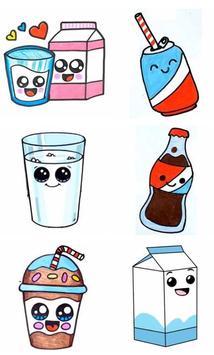 How To Draw Cute Sweet Drinks screenshot 1