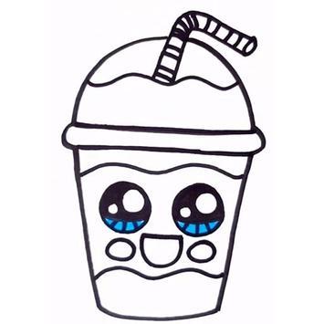 How To Draw Cute Sweet Drinks screenshot 2