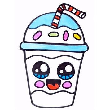 How To Draw Cute Sweet Drinks screenshot 3