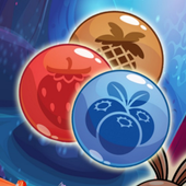 Bunny Bubble Fruit Shooter icon