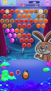 Bunny Bubble Fruit Shooter screenshot 1