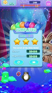 Bunny Bubble Fruit Shooter screenshot 2