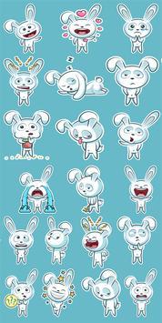 Bunny Sticker Pack for WhatsApp पोस्टर
