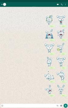 Bunny Sticker Pack for WhatsApp स्क्रीनशॉट 11