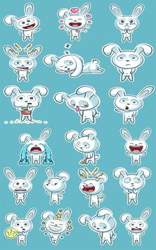 Bunny Sticker Pack for WhatsApp स्क्रीनशॉट 4