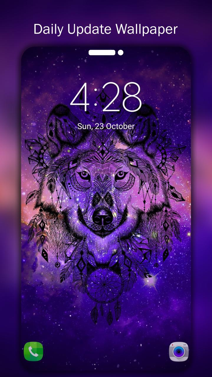 Galaxy Wolf Wallpapers 4k Uhd For Android Apk Download