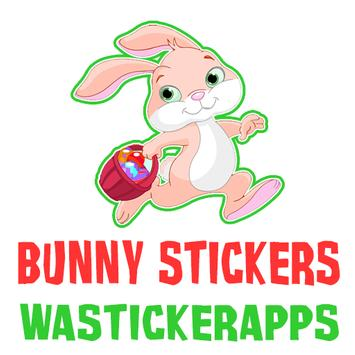 Bunny Stickers - WAStickerApps poster