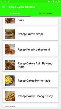 Resep Cakwe Istimewa screenshot 2
