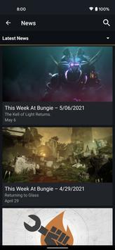 Destiny 2コンパニオン スクリーンショット 6