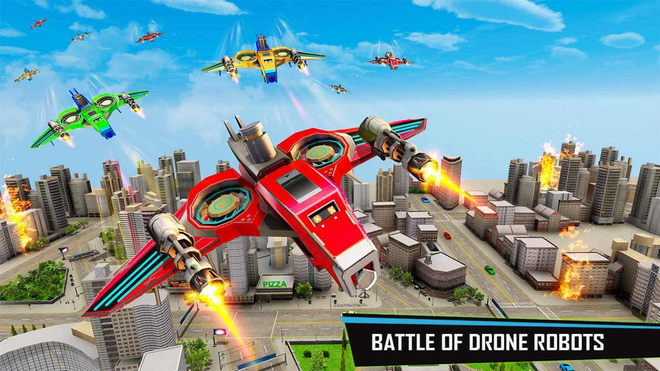 Us police robot car game: police plane transport | #yz android.