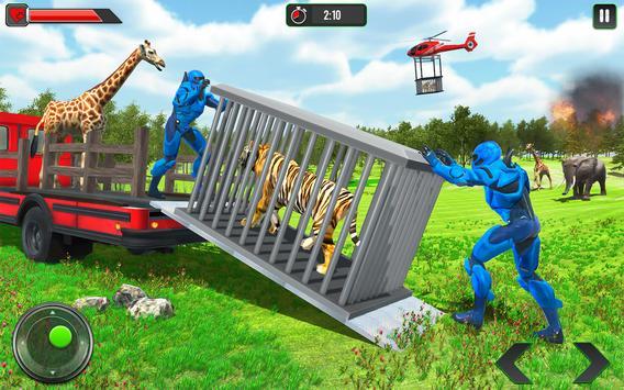 Police Robot Animal Rescue screenshot 7