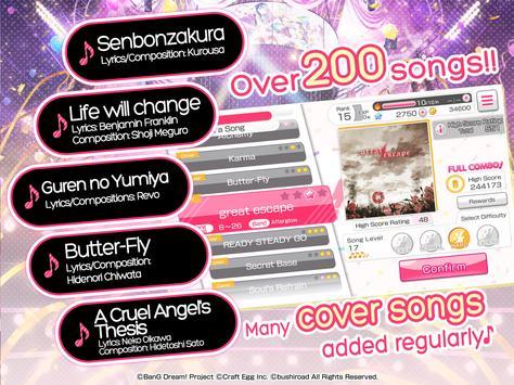 BanG Dream! captura de pantalla 19