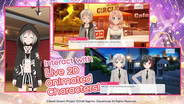 BanG Dream! captura de pantalla 5